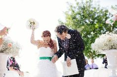 they re so cute - Bride & Groom - Confetti  http://www.fantasiaromantica.com  Wedding Destination Photographer: Florence   Europe | Martina   Fabrizio Wedding in a Tuscan villa | http://www.tastino0.it