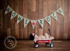 Mother's Day Burlap Banner Photography Prop / by nhayesdesigns