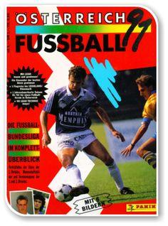 Fussball Osterreichische Bundesliga 1990-1991 Austria, Album, Comic Books, Baseball Cards, Comics, Cover, Sticker, Football Soccer, Photo Illustration