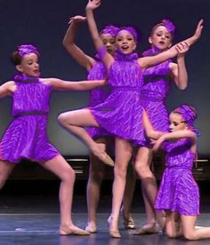 Kendall Vertes, Nia Frazier, Chloe Lukasiak, Maddie & Mackenzie Ziegler - Beautiful Revenge ~ Pink -> Purple