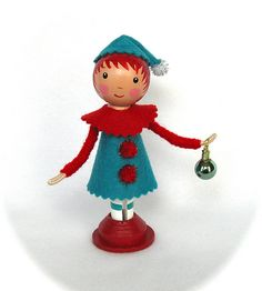 Christmas Clothespin Dolls | Flickr - Photo Sharing!