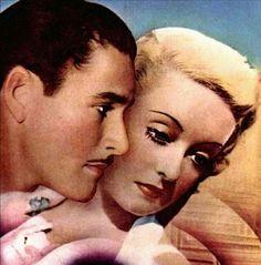 Errol Flynn and Bette Davis