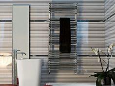 BASICS 25 Aquecedor de toalhas vertical by Tubes Radiatori