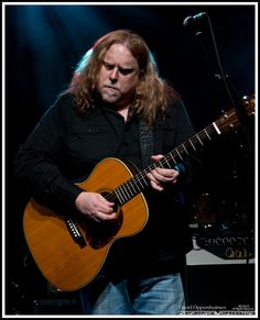 Warren Haynes from the Allman Brothers and Gov't Mule