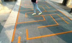 Mazes, hopscotch, etc