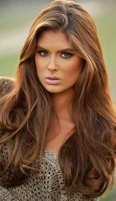 2016 Vibrant Brown Hair Color with Highlights | Trendy Hairstyles 2015 / 2016 for long, medium and short hair