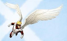 X-Men Month Angel Red by RobertAtkins.deviantart.com on @deviantART