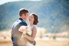 Love this Spruce Mountain Ranch Wedding and Summer weddings in Colorado! Let us help you plan a destination wedding in Colorado!  See more here: http://www.sweetlypaired.com/kayla-and-robb---spruce-mountain-ranch-wedding-planner.html
