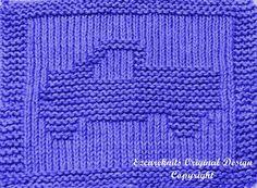 Knitting Cloth Pattern  PICKUP TRUCK  Instant by ezcareknits, $3.00