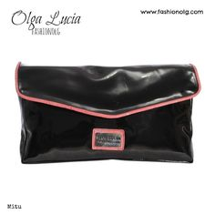 Olga Lucia Garzon- Mitu Clutch Bag, Black charol. New collection OLGA LUCIA brand. Fashion, Unique, Exclusive. fashion_olg's photo