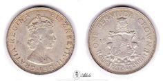 1964 #Bermuda Crown & 1968 #Australia 5 Cents - Elizabeth II http://etsy.me/1C51hKs #Coin @Etsy
