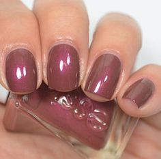 Essie - Pearls Of Wisdom (Gel Couture Atelier Collection) Nail Design, Nail Art, Nail Salon, Irvine, Newport Beach Essie Gel, Essie Nail Polish, Nail Polish Colors, Nail Polishes, Gel Nail, Love Nails, How To Do Nails, Pretty Nails, My Nails