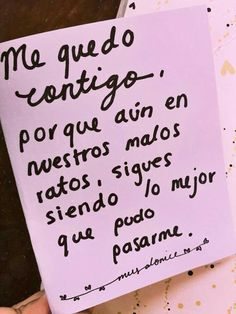 Eres lo mejor que me ha pasado ❤️ frases - Rebel Without Applause Quotes For Him, Me Quotes, Qoutes, Love You, Just For You, My Love, Ex Amor, Frases Love, Frases Tumblr