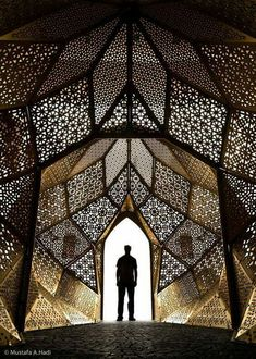 Art and Architecture Architecturia - Lovely View of Arts Engineering. The mother art is architecture. Without an architecture of our own we have no soul of our own civilization. Architecture Design, Islamic Architecture, Beautiful Architecture, Tectonic Architecture, Layered Architecture, Architecture Geometric, Shadow Architecture, Parametric Architecture, Pavilion Architecture