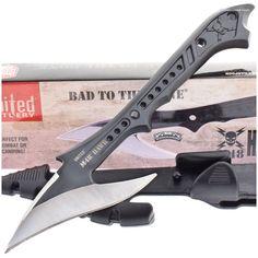 United Cutlery UC2971 M48 Hawk Harpoon Spear Head Knife w/ Sheath | MooseCreekGear.com | Outdoor Gear — Worldwide Delivery! | Pocket Knives - Fixed Blade Knives - Folding Knives - Survival Gear - Tactical Gear