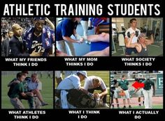 REAL LIFE OF ATHLETIC TRAINING STUDENTS