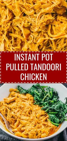 An easy recipe for Indian Pulled Tandoori Chicken made in the Instant Pot pressure cooker This low carb and keto friendly curry uses boneless skinless chicken thighs coco. Instant Pot Pressure Cooker, Pressure Cooker Recipes, Slow Cooker, Tandori Chicken, Pollo Tandoori, Keto Curry, Boneless Skinless Chicken Thighs, Indian Food Recipes, Indian Foods