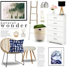 Natural Wonder by emmy on Polyvore featuring interior, interiors, interior…