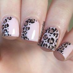 19 Leopard nail art print   Best Pic