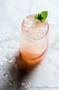 Lemongrass-Ginger Rhubarb Soda
