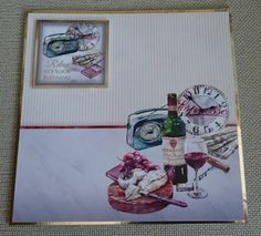 Handmade 7 x 7 Greeting Card  Relax It's Your by BavsCrafts