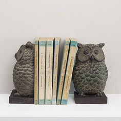 gisela-graham-pair-of-owl-bookends – Hľadať Googlom – Home Office Design Vintage Decorative Accessories, Home Accessories, Owl Books, Cozy Nook, Book Lovers Gifts, Practical Gifts, Owl Art, Cute Owl, Trendy Home