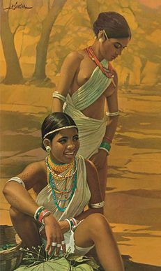 Image result for tribal people of india