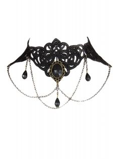 Pretty Attitude Women's Victorian Lace Choker Necklace