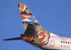 737, England (Grand Union) World Art tailfin