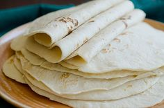 Homemade Flour Tortillas-always wanted to know how to do this.  YAY!