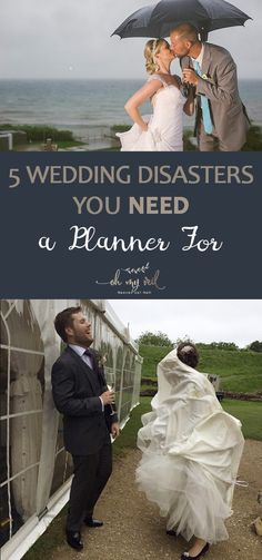 5 Wedding Disasters You NEED a Planner For| Wedding, Wedding Planning, Wedding Planning Tips and Tricks, Professional Wedding Planning, Wedding Disasters to Avoid #Wedding #WeddingPlanning
