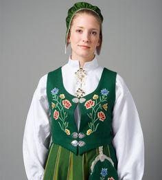 Bilde av Broderi front grønn Bodo, Steampunk, Traditional, Beauty, Fashion, Folklore, Fashion For Girls, Pictures, Moda