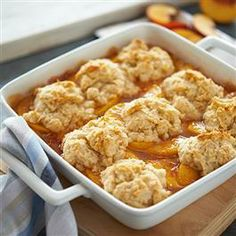 Peach #Cobbler from Pillsbury® Baking