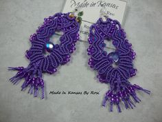 If you love purple... Made In Kansas By Rosi... on Facebook.