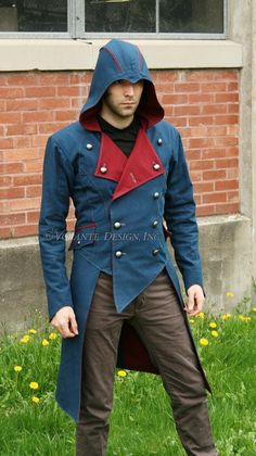 Volante Design - The Harrier : Assassin's Creed 3 costume Casual Cosplay, Cosplay Outfits, Modern Assassin, Moda Geek, Assassins Creed Costume, Connor Kenway, Larp, Streetwear Brands, Diy Clothes