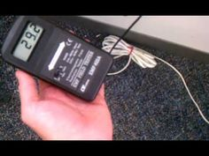 Using A Gauss Meter Or EMF Meter To Test For Electro Magnetic Radiation ...