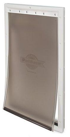 PetSafe Extra-Large Plastic Pet Door, Premium White  http://www.bestdiscountpetsupplies.com/petsafe-extra-large-plastic-pet-door-premium-white/