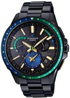 CASIO Men's Watch OCEANUS GPS hybrid Solar radio OCW-G1100E-1AJF