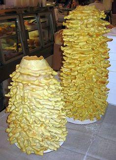 Pie Dessert, Dessert Recipes, Desserts, Lithuanian Recipes, Lithuanian Flag, Lithuania Food, Potato Pudding, Heritage Recipe, Tree Cakes