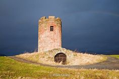 Auchinbaird windmilll, Sauchie, near Alloa. The structure has also been used as a doocot (dovecote)