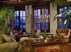 Gerard Butler's loft in NY--something more akin to these windows may be more reasonable.....