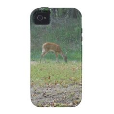 faun, baby deer at Lake Arrowhead iPhone 4/4S Covers