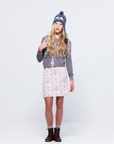 Pavement United Brands – Blossom Dress + Anna Lace Up Boots
