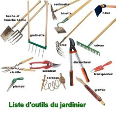 outils pour jardinier Permaculture, Horticulture, Garden Power Tools, Creative Landscape, Garden Tool Storage, Potager Garden, Must Have Tools, Chores For Kids, Vintage Tools