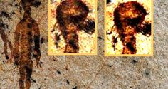 10,000-year-old rock paintings depicting aliens and UFOs found in Chhattisgarh | Alien UFO Sightings