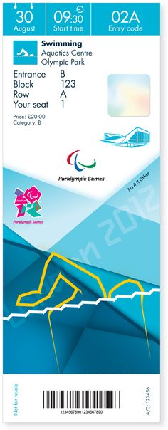 London 2012 Olympic and Paralympic Games Tickets | Designer: Futurebrand | Image 9 of 12