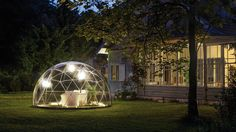 Utilitarian Things · Garden Igloo allows you to enjoy the outdoors...