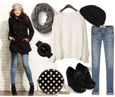 Winter wear: Pea coat