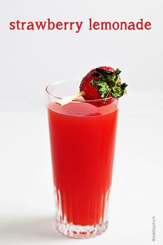 Strawberry Lemonade Recipe - So fresh and delicious! Great for hot ...