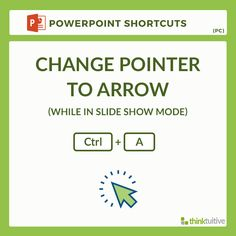 df063fc597de6c Change pointer to arrow (Ctrl + A). Save time by using keyboard shortcuts